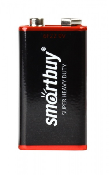 Батарейка солевая Smartbuy 6F22/1S (10шт)