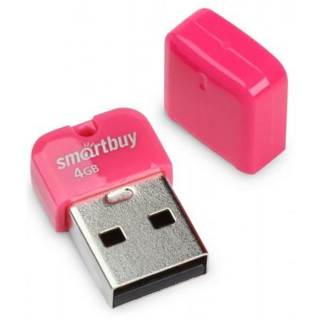 USB 2.0 флэш-диск Smartbuy ART Pink 4GB