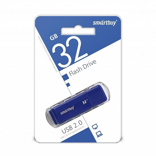 USB 2.0 флэш-диск Smartbuy Dock Blue 32GB оптом