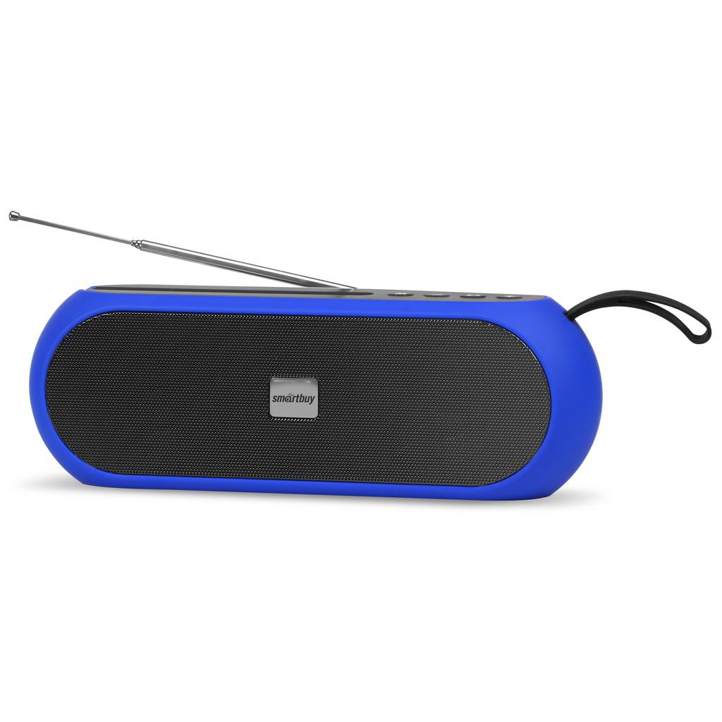 Акустическая система Smartbuy RADIO ACTIVE черно-синяя