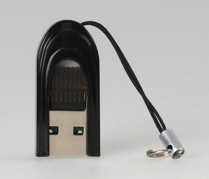 Картридер Smartbuy 710, USB 2.0 - MicroSD, черный