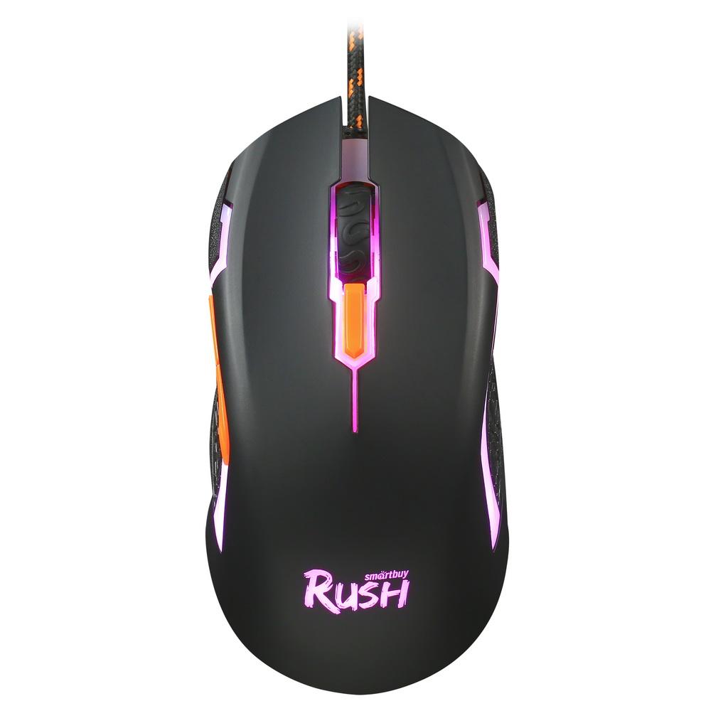 Мышь игровая проводная Smartbuy RUSH Pachet черная (SBM-717G-K) оптом