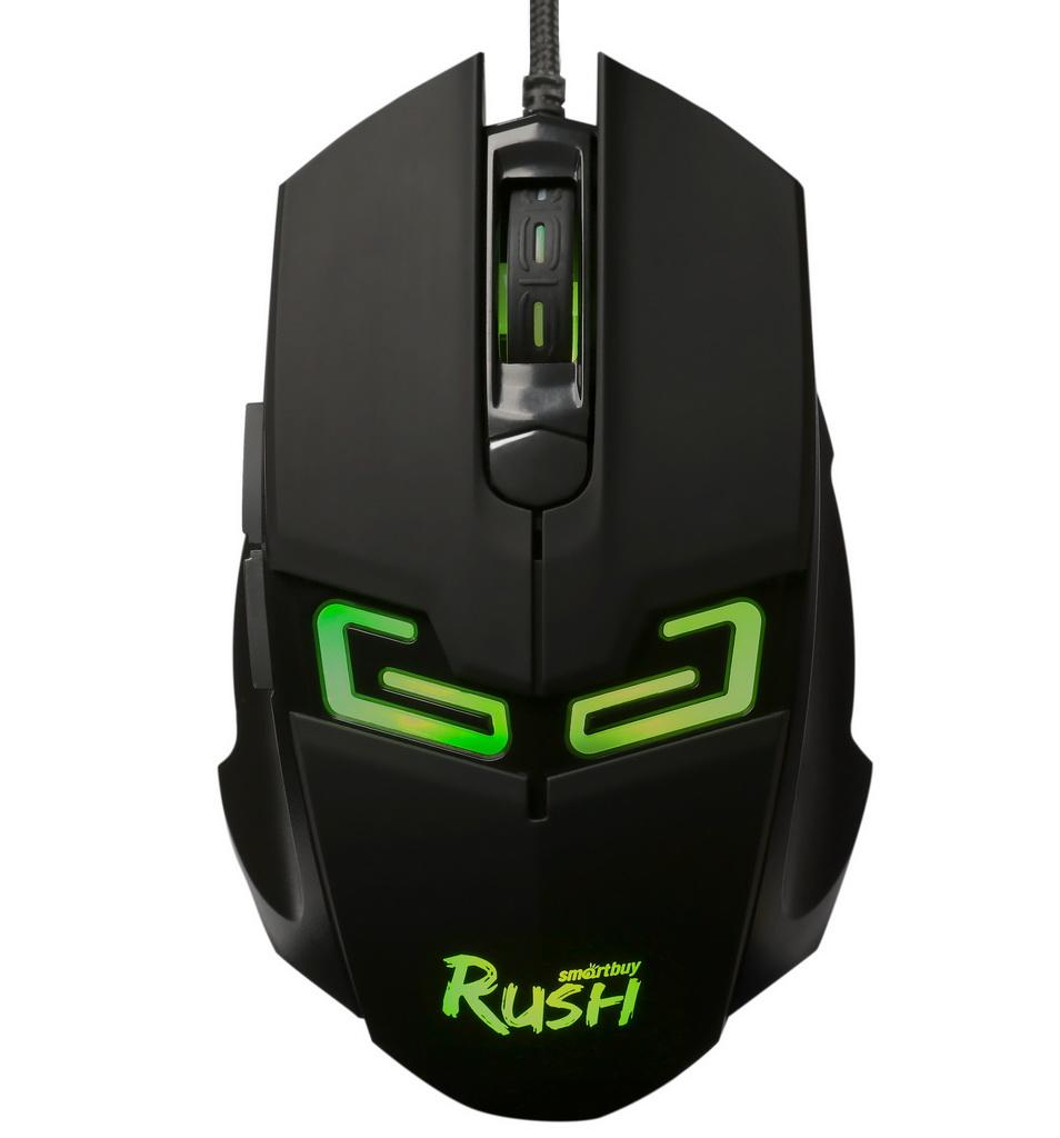 Мышь игровая проводная Smartbuy RUSH Storm Black оптом