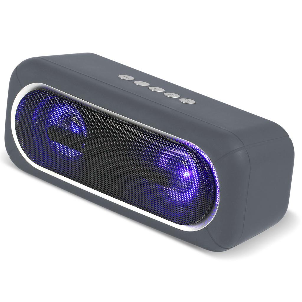 Портативная акустическая система Smartbuy SATELLITE MKII серая оптом