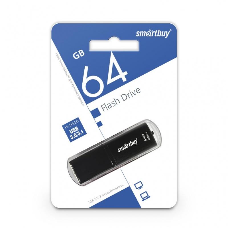 USB 3.0 флэш-диск Smartbuy X-Cut Black 64Gb оптом